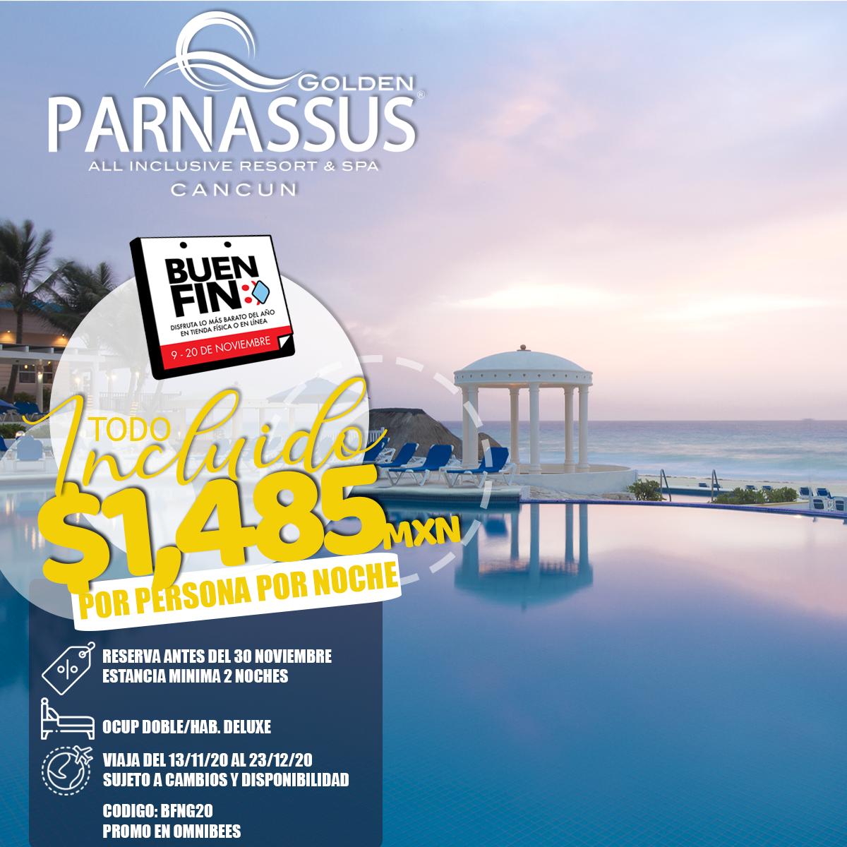 GOLDEN PARNASSUS CANCUN