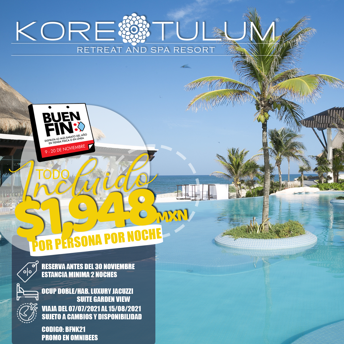 KORE TULUM RETREAT AND SPA RESORT