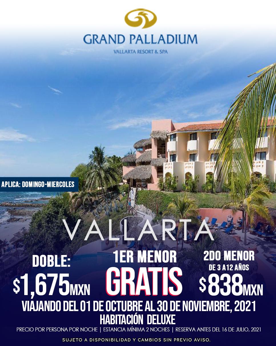 Grand Palladium Vallarta